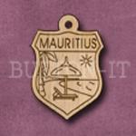 Mauritius Charm 22mm x 31mm