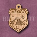 Mexico Charm 22mm x 31mm