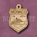 Monaco Charm 22mm x 31mm
