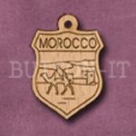 Morocco Charm 22mm x 31mm