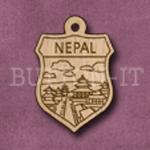 Nepal Charm 22mm x 31mm