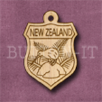 New Zealand Charm 22mm x 31mm
