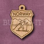 Norway Charm 22mm x 31mm