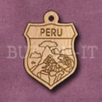 Peru Charm 22mm x 31mm