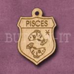 Pisces Charm 22mm x 31mm