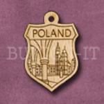 Poland Charm 22mm x 31mm