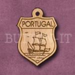 Portugal Charm 22mm x 31mm