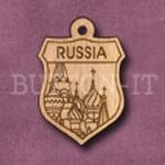 Russia Charm 22mm x 31mm