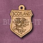 Scotland Charm 22mm x 31mm