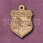 Seychelles Charm 22mm x 31mm