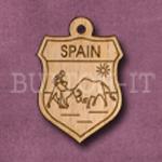 Spain Charm 22mm x 31mm