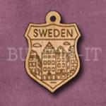 Sweden Charm 22mm x 31mm