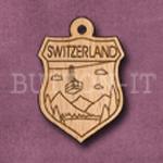 Switzerland Charm 22mm x 31mm