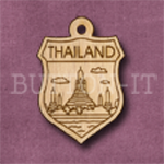 Thailand Charm 22mm x 31mm
