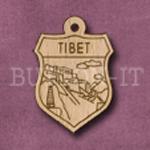 Tibet Charm 22mm x 31mm