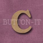 Craftwood Letter c