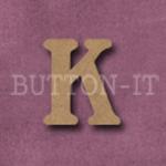 Craftwood Letter K