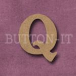 Craftwood Letter Q