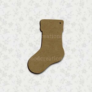 Christmas Stocking Laser Cut Mdf Shape