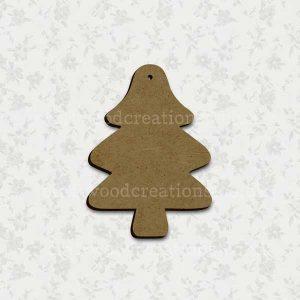 Christmas Tree Laser Cut Mdf Shape