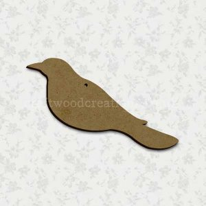 Crow Laser Cut Shape