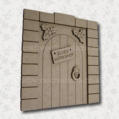 Elves Workshop Fairy Door
