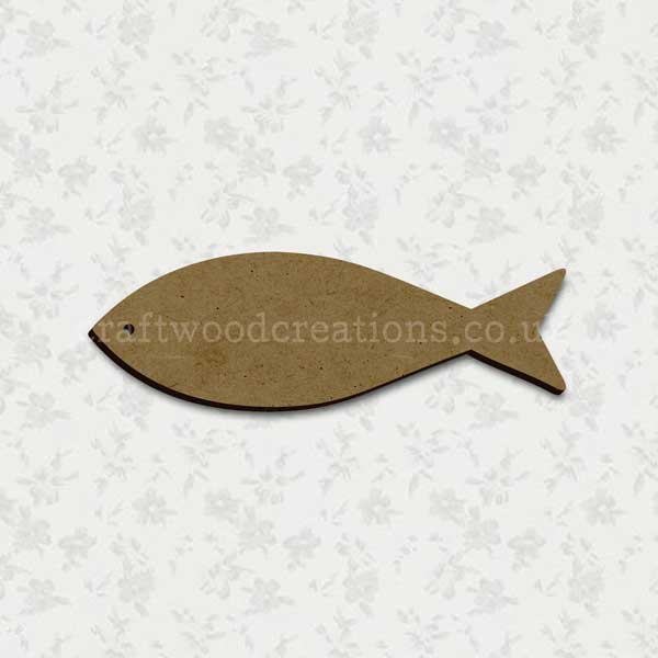 Fish Laser Cut Shape