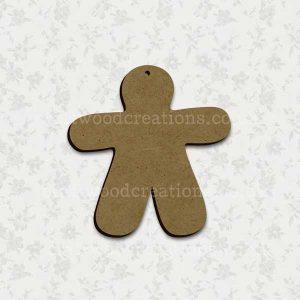Craftwood Gingerbread Man Shape
