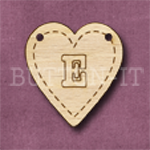 HB-E Heart Bunting 26mm x 28mm