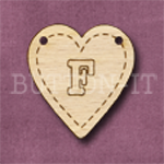 HB-F Heart Bunting 26mm x 28mm
