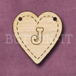 HB-J Heart Bunting 26mm x 28mm