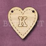 HB-K Heart Bunting 26mm x 28mm