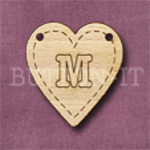 HB-M Heart Bunting 26mm x 28mm