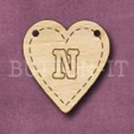 HB-N Heart Bunting 26mm x 28mm