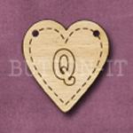 HB-Q Heart Bunting 26mm x 28mm