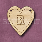 HB-R Heart Bunting 26mm x 28mm
