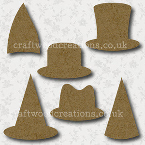 Craftwood Hats Shapes