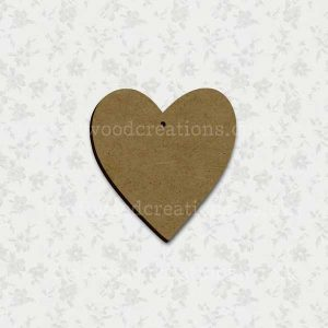 Heart Laser Cut Mdf Shape