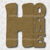 Craftwood Home Sign