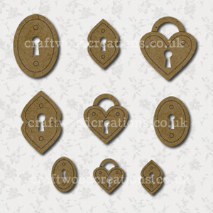 Craftwood Locks Shapes