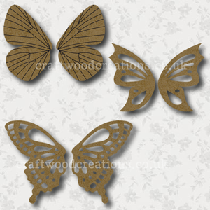 Craftwood Butterfly Wings