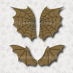 Craftwood Halloween Wings