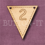 NB-2 Number Bunting 28mm x 30mm