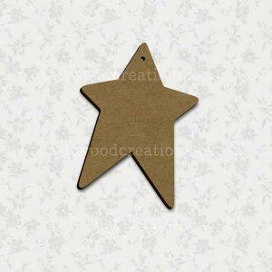 Prim Star Laser Cut Mdf Shape