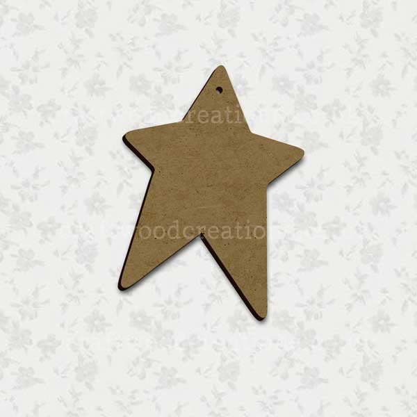 Prim Star Laser Cut Mdf Shape