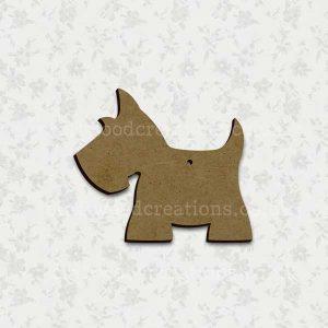 Scottie Dog Laser Cut Shape