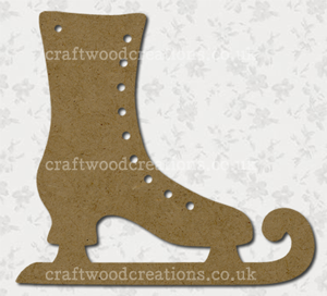 Craftwood Ice Skate Shape