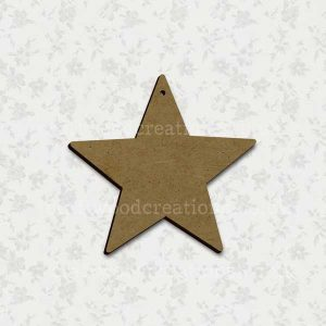 Star Laser Cut Mdf Shape