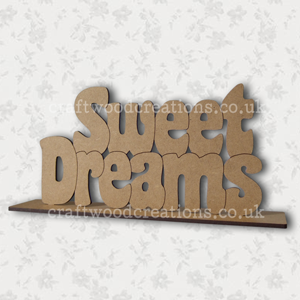 Craftwood Sweet Dreams Sign