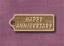 T-HA Happy Anniversary 39mm x 15mm